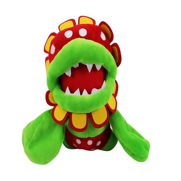 "New Super Mario Bros Petey Piranha Corpse Flower Soft Toy Plush Doll Collection & For Kids Holiday Best Gift ( 3pcs/Lot - Size: 7"" 18cm )"