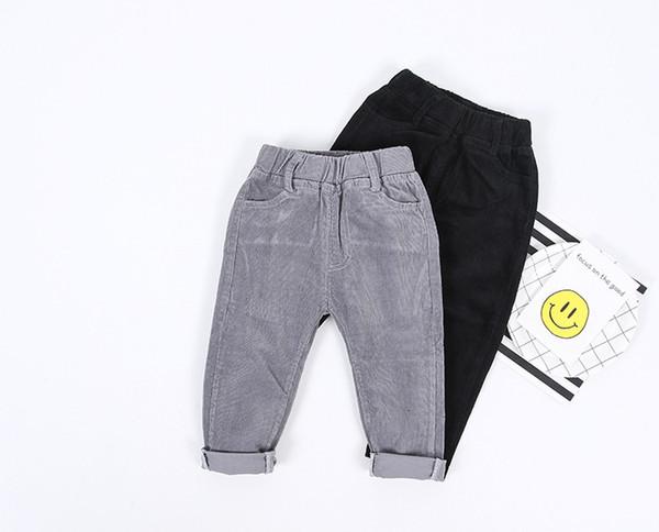 Pantaloni di alta qualità autunno bambini pantaloni bambino pantaloni di velluto a coste bambini pantaloni Harem pantaloni casual per ragazzi vestiti del bambino