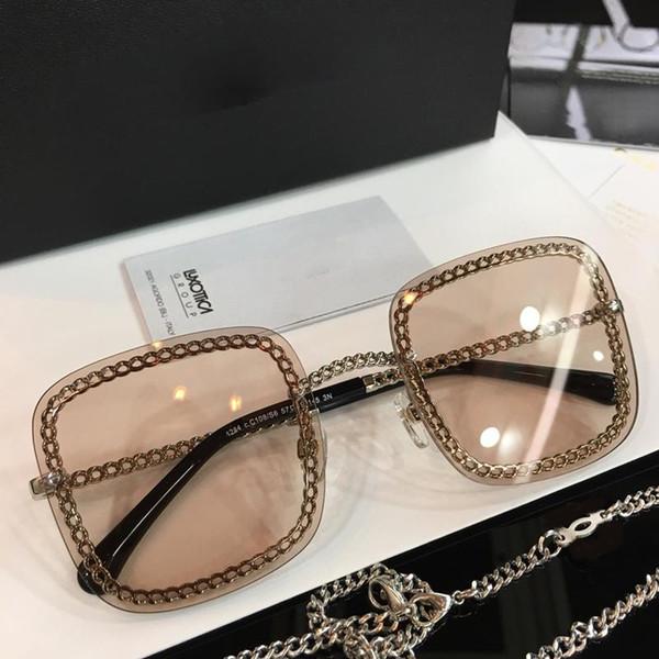Compre Lujo 4244 Gafas De Sol Para Mujer Diseñador De Moda Popular ...