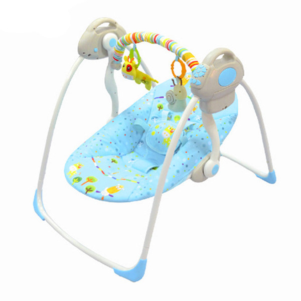 Baby Cradle to Sleep Musical infant Sleeping Rocking Chair Electric Swing Bouncer Crib Motion