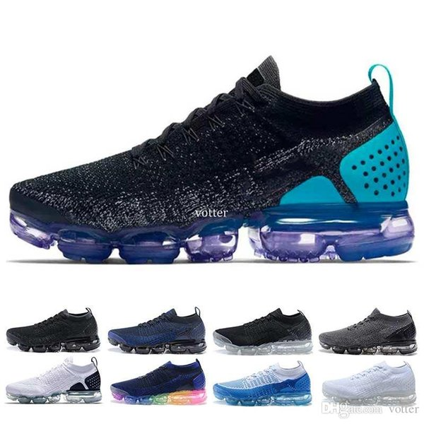 quality design ed26e 70642 2018 Vapormax 2.0 Shoes Triple White Black Red Oreo Running Shoes For Men  Sports Trainers Sneakers Designer Casual Shoe Size 40 45 Running Shoes For  ...