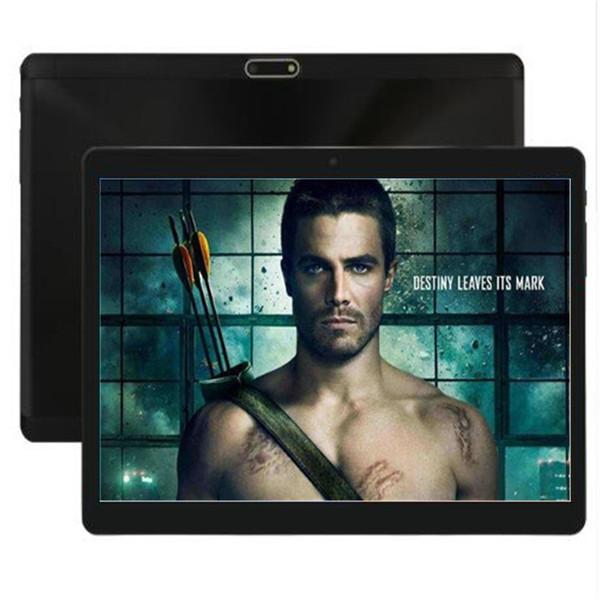 Закаленное 2.5D Glasss 10-дюймовое Octa Core планшетный ПК Android 7.0 4 ГБ ОЗУ 64 ГБ ROM 1280 * 800 IPS Дети Google Play Планшеты 10 10.1