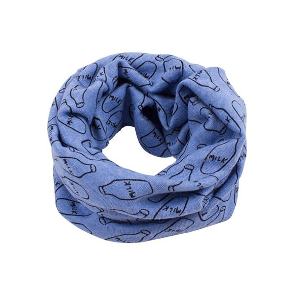 2017 Autumn Children Scarf Baby Bibs Baby Girl Boy Scarves O Ring Lovely Kids Collars Child Ring Scarf