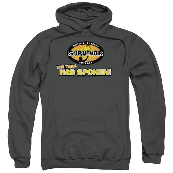 Compre Survivor TV Show THE TRIBE HA SPOKEN Sudadera Con Capucha Con Licencia A $22.95 Del Banwanyue5 | DHgate.Com