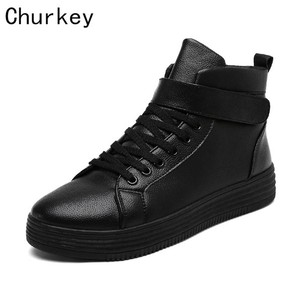 Men Casual Shoes Breathable Canvas Shoes Fashion High top Men's Ankle boots Flat Male British Style Young Students Shoes Adults