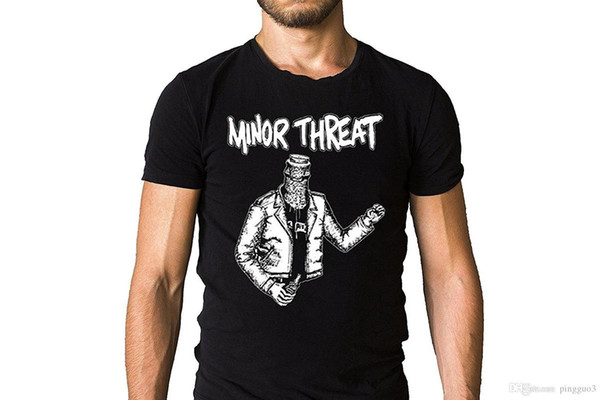 Maglietta Uomo Minatore Minaccia Minaccia - Maglietta Punk Hardcore, Punk, Punk Rock O Neck Maglietta Maschio Low Price Steampunk Text Top Tee