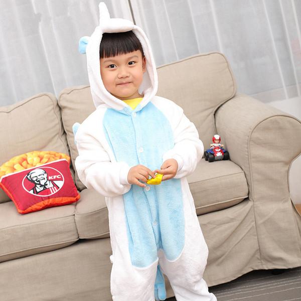 Child Unicorn Pajamas Boys Girls Children's Pijamas Pyjama Garcon Nightgown Roupao Infantil One-pieces Bathrobe