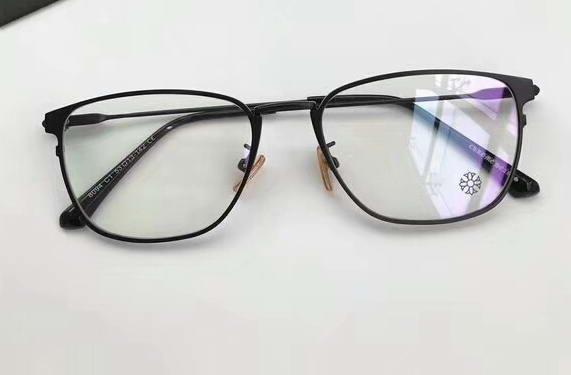 Mens Square Black Occhiali da vista Occhiali Frame Clear Lenti 54/20/145 Occhiali da sole firmati Brand New con scatola