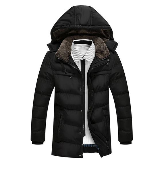 2018 Winter Jacket Men Slim Thick Warm Top Quality Waterproof Zipper Clothes For Men Fashion Winter Coats Classic Parkas Escudo