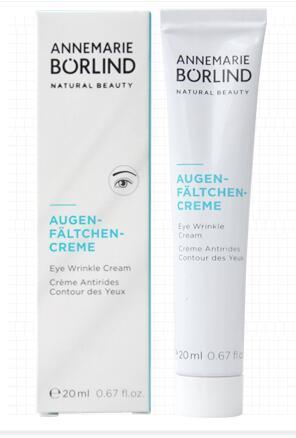 New in stock !ANNEMARIE BORLIND natural beauty Augen-faltchen cream eye wrinkle cream