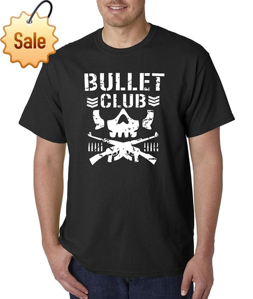 Men Fashion 2018 New Way 786 - Unisex T-Shirt Bullet Club Schädel Knochen Soldat Japan Pro Wrestling O-Ausschnitt Streetwear Tees