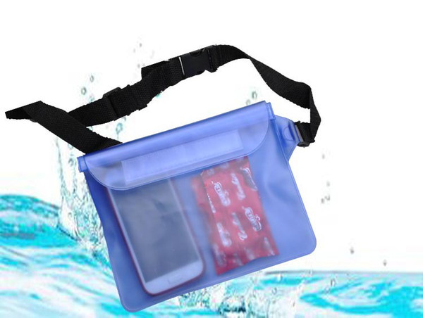 top popular For Universal Waist Pack Waterproof Pouch Case Water Proof Bag Underwater Dry Pocket Cover For Cellphone mobile phone Samsung iphone money 2021