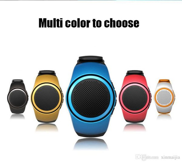 Mini Bluetooth Wireless Watch Wrist Speaker Portable For Cell Phone Laptop Tablet