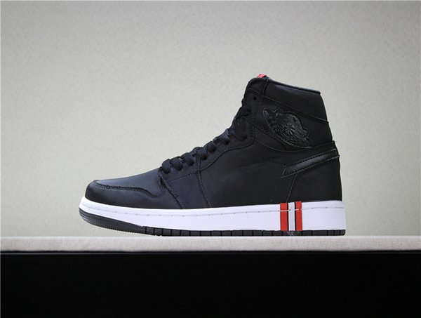 limited guantity ever popular to buy 2019 Newest 1 Paris Saint Germain Black Basketball Shoes Men 1s PSG Here Is  Paris Good Quality White Midsole Mens Designer Shoes Sports Sneakers From  ...