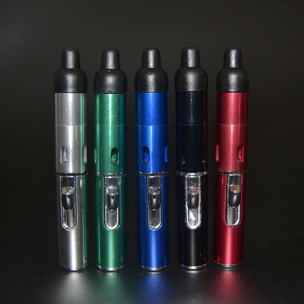 click N Vape sneak a toke vaporizer pen Smoking Metal pipes Sneak A Toke Herbal Vaporizer E-Cigarette Water and Wind Proof Torch Lighter