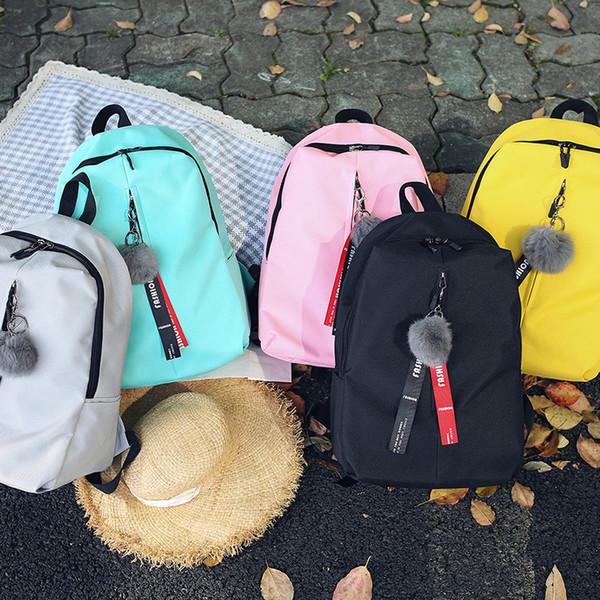 Wholesale Women Backpacks Large School Bags for Teenager Girls Travel Laptop Backbag Mochila Rucksack Bolsas Femme