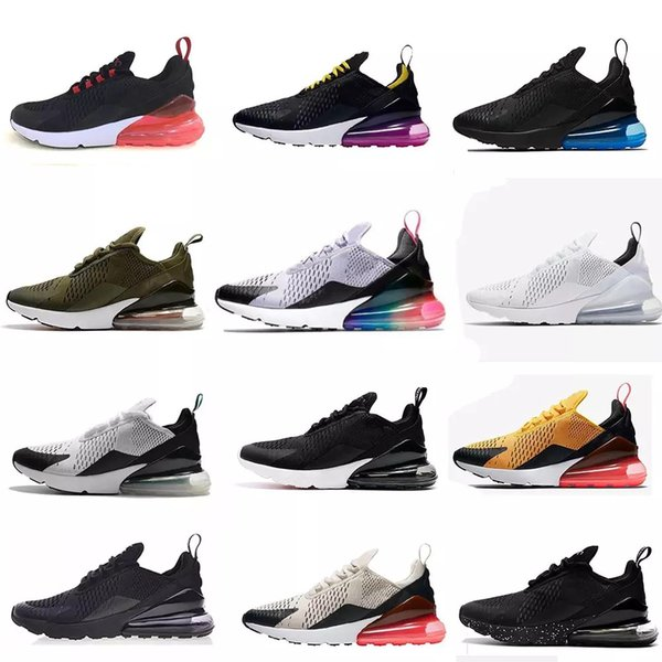 270 Running Shoes Classic Outdoor Run Shoes 270s Barely Rose Black White Sport Shock Sneakers Men Requin Olive Silver In Metallic 36 45 Junior Running
