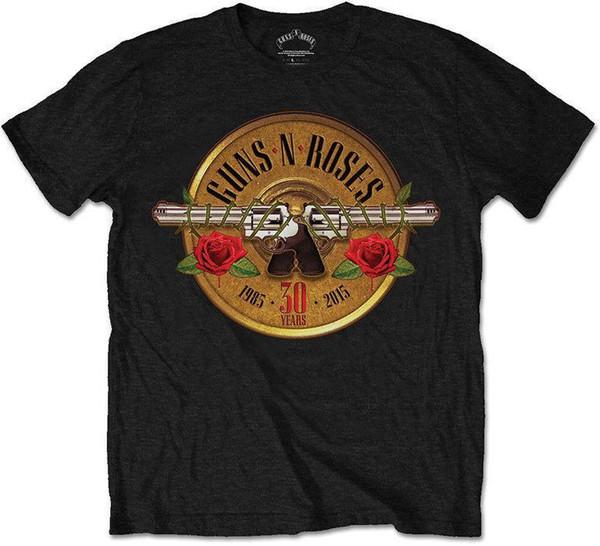 Guns N' Roses - 30th Photo Logo T-Shirt Unisex Size Taille XL ROCK OFF