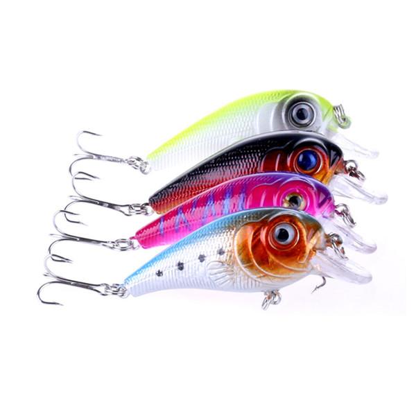 Wholesale 4 Colors fishing lure 7cm-11.3g best crank wobbler tackle crankbait artificial japan hard bait 4pcs free shipping