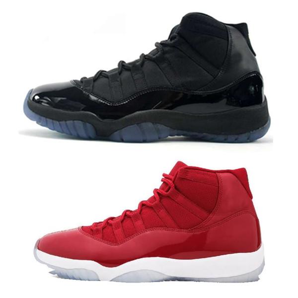 Vendita calda 11 Prom Night Cap e Gown Gym Red Space Jam Vinci come 96 per 11s Uomo Scarpe da basket Athletic Sports Sneakers