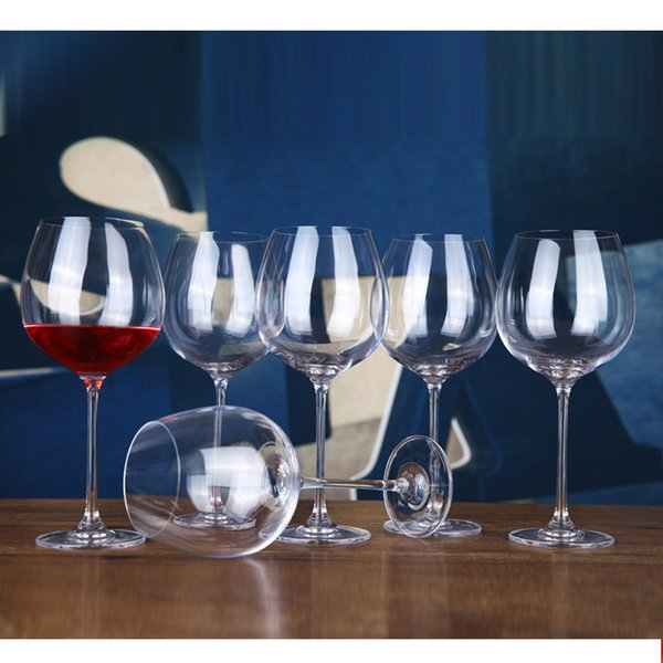 Wholesale-800ml Crystal Glass Cup Red Wine Glasses Goblet Stemware Drinking Tools For Bar Party High Quality
