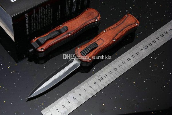 2018 BM A016 A018 Scarab Wooden Handle Tactical Folding Knife Pocket Survival Camping Hunting EDC Original Box for Man Collection