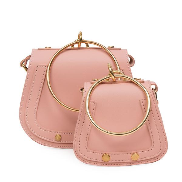 2018 bambini mini borse moda borsa messenger in pelle per le ragazze delle bambine borse a tracolla borse borse anello crossbody borse