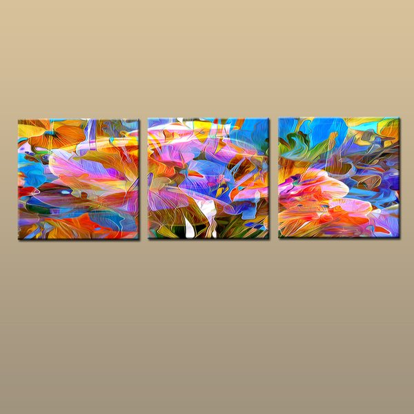 Framed/Unframed Large Modern Wall Art Canvas Giclee Prints Painting Abstract Picture Decor 3 piece Sets Home Bedroom Living Room Decor abc27