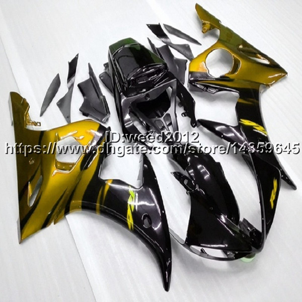 23colors+5Gifts orange YZF-R6 2003-2005 motorcycle ABS Plastic Body kit for YAMAHA YZFR6 2003 2004 2005 ABS Plastic Full fairing kits