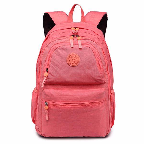 Boys Girls Retro Laptop Travel Work School Bag Gray Backpack Rucksack Children School Bags Backpack