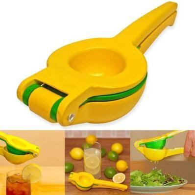 Lemon Clip Double Layer Lemon Lime Squeezer Orange Tool Manual Citrus Press Juicer Manual Lime Juice Maker Kitchen Gadgets CCA10153 36pcs
