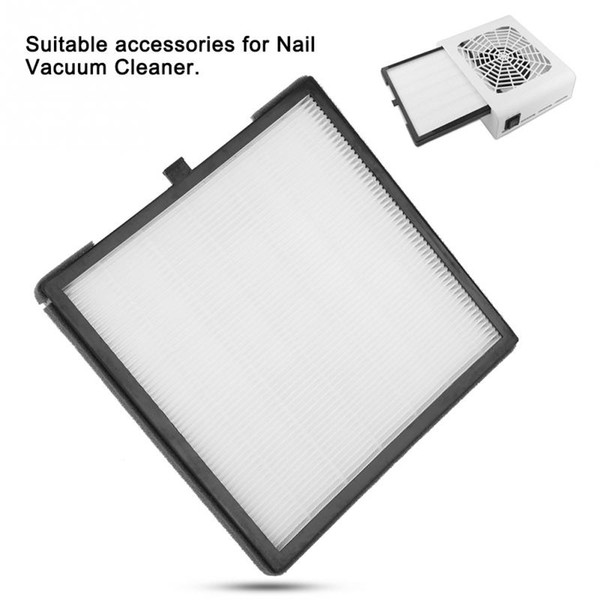 Nail Art Suction Dust Collector Filter Screen Manicure Machine Accessory Screen Plate Suction Vacuum Cleaner Replacement Filter