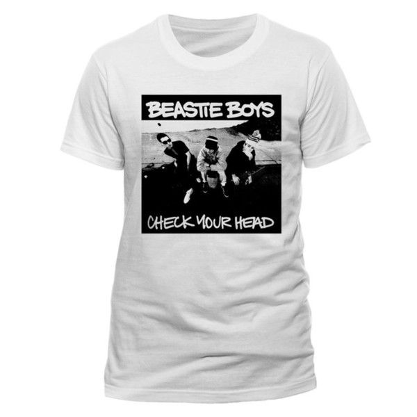 Beastie Boys Check Your Head Rap Rock Official Tee T-Shirt Mens Unisex Tee Shirt Men Man's Fashion White Short Sleeve Custom Big Size Family