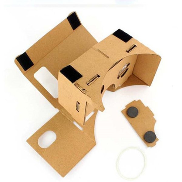 Boutique Digital High Quality Good Sale Portable DIY Cardboard Quality 3D Vr Virtual Reality Glasses For Google Oct27