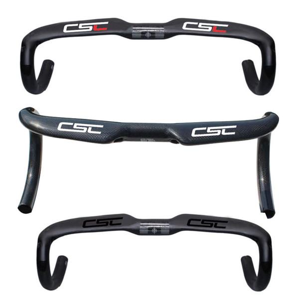 New Bicycle Handlebar Ultralight Full Carbon Fiber Road Bike Handle bar bent bar