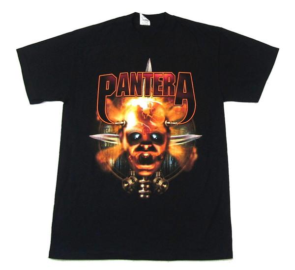 Pantera Gear Head CFH Black T Shirt New Official Band Merch Cotton Cool Design 3D Tee Shirts