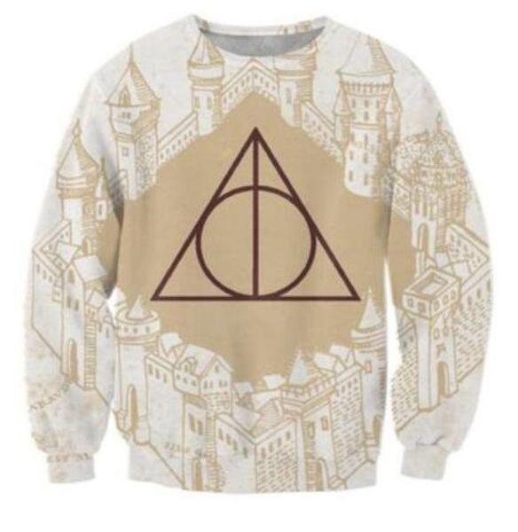 Sondirane Women/Men Religion Castle 3D Print Sweatshirts Hoodies Long Sleeve Pullovers Hombre Sudaderas Creative Tracksuits Tops