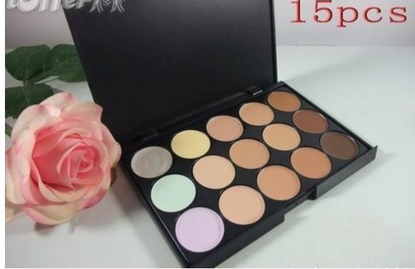 1PCS FREE SHIPPING 2018 NEW Brand MAKEUP NEW Lowest 15 color CONCEALER PALETTE