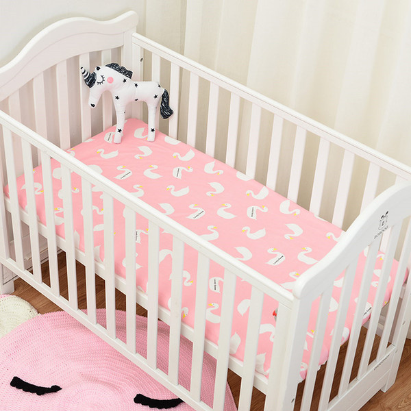 quality design 36ea7 dce01 2019 Muslinlife Flamingo/Cactus Pattern Crib Mattress Protector,Baby Crib  Bed Fitted Sheet With Elastic Band 130*70/120*60/120*65cm From  Beauty_diary, ...