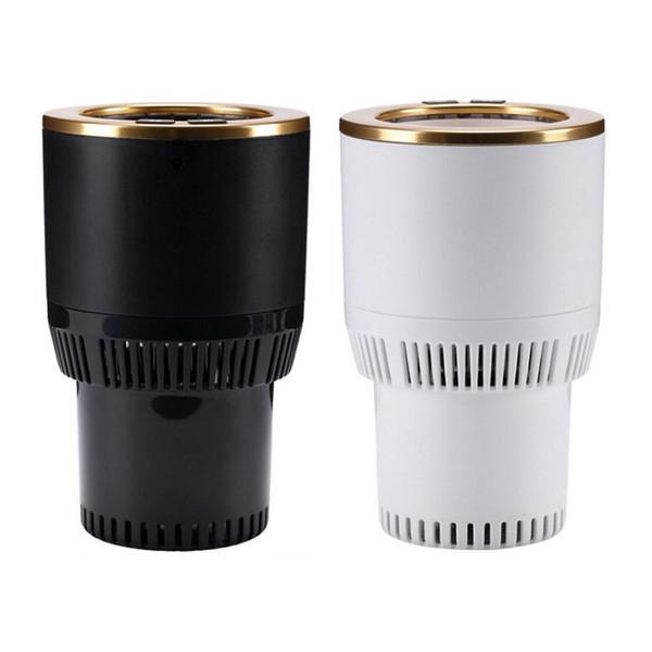 12 V Auto Electric Cup Holder Drink di raffreddamento può riscaldare il caffè in pochi minuti plug-in auto grande per pendolari Traveler Road Trip