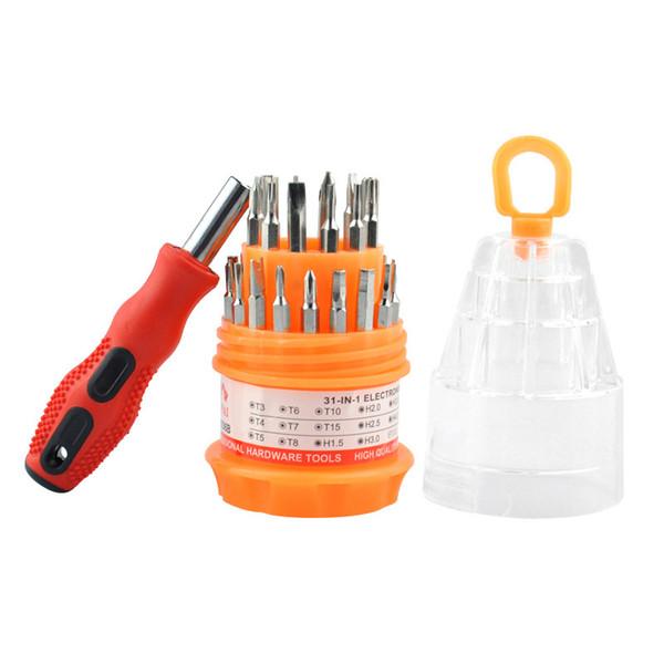 Çok amaçlı tamir 31 1 Hassas Tornavida Seti Cep Telefonu Için Açılış Onarım Telefon Araçları Set