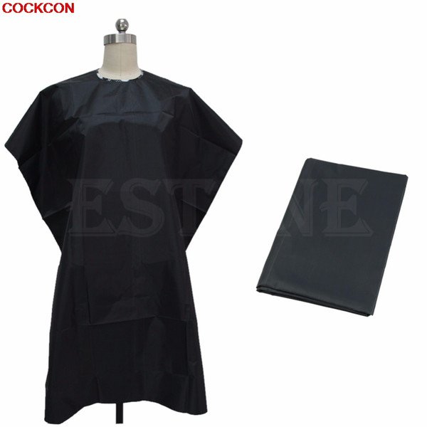 Adult Salon Hair Cut Hairdressing Barbers Hairdresser Cape Gown Cloth Waterproof