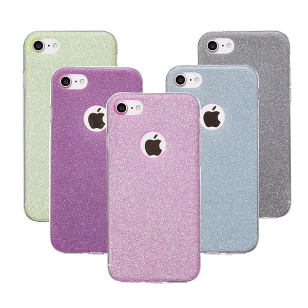 For iphone 6s Case Glitter Soft TPU Phone Case For iPhone 5 5S SE 6 6s 7 8 Plus X Fashion Protector Case