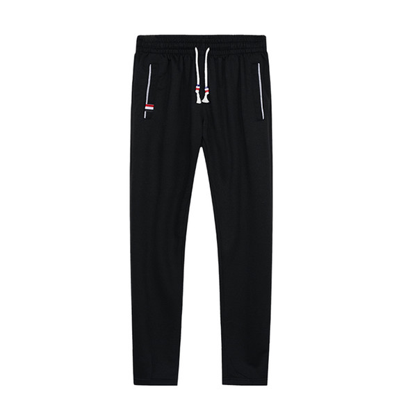 Autumn New Men Cotton Sweatpants Fitness Solid Joggers Trousers Male Casual Pants Sportswear Elastic Sweat Trousers Runners