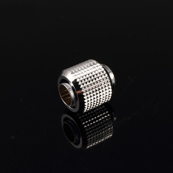 G1/4 Silver Quick Twist Water Cooling Fittings for 9.5X12.7 Water Pipe EV-FT3-Tn Water Cooling Connector
