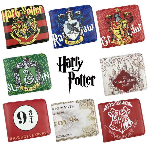 Wallet Harry Potter /Sherlock Holmes /Breaking Bad /Superman /Walking Dead With Small Zipper Coin Pocket Men's Wallet
