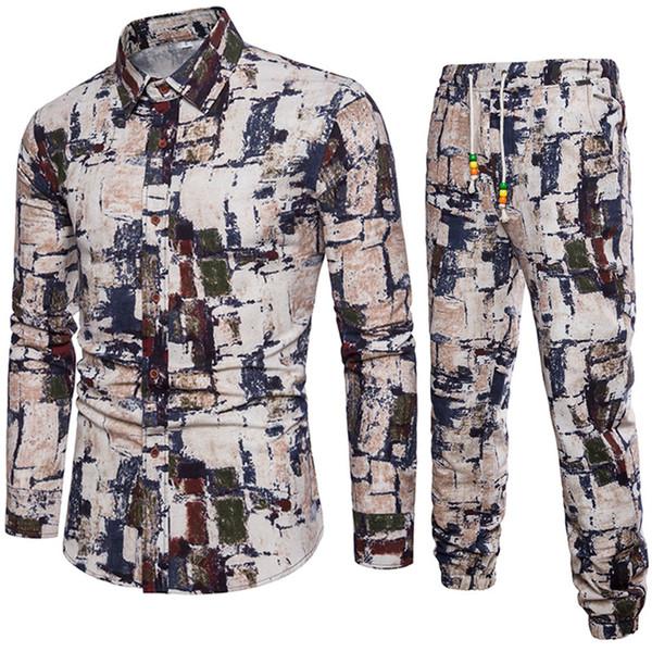 T-shirt manica lunga e pantaloni eleganti per uomo a maniche lunghe T-shirt maniche corte per uomo e per ragazzo