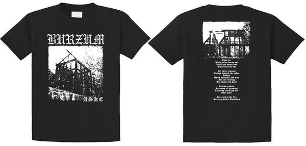1Burzum - Camiseta Aske, nueva (S-3XL disponible) 2018 Nueva camiseta de algodón puro para hombre de manga corta Hip Hop