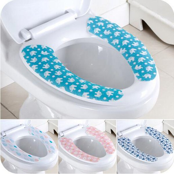 Miraculous 2019 Washroom Warm Washable Health Sticky Toilet Mat Seat Cover Pad Household Reusable Soft Toilet Seat Cover From Gwy1222 0 77 Dhgate Com Creativecarmelina Interior Chair Design Creativecarmelinacom