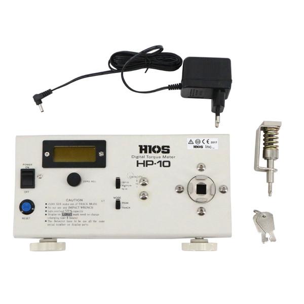 HIOS HP-10 Nova Digital Elétrica Chave de Fenda Torque Tester Saída de dados e saída analógica são para uso padrão